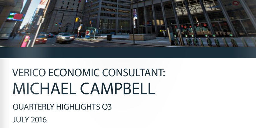 Verico Q3 2016 Economic Update with Michael Campbell